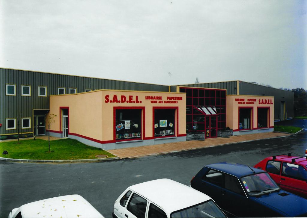 Nouvel entrepôt & magasin Sadel